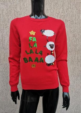 Светр новорічний свитер новогодний george