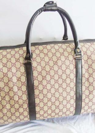 Акция! дорожная сумка ручная кладь сумка ручна поклажка эко кожа