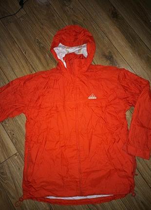 Куртка парка дождевик ветровка adidas 164 cm 14-16 лет