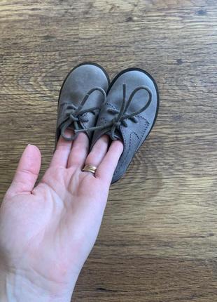 Zara туфельки хлопчику 18 розмір