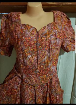 Платье с пояском 48-52р