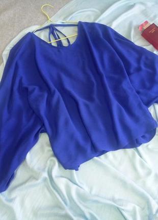 Синяя блуза asos