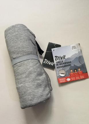 Полотенце для спорта, микрофибра, размер 80*130. бренд crivit