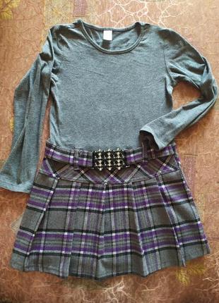 Платье gloria jean's для девочки 4-6 лет