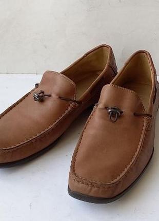 Туфли лоферы мокасины hugo boss