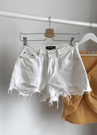 📎 шорты белые missguided