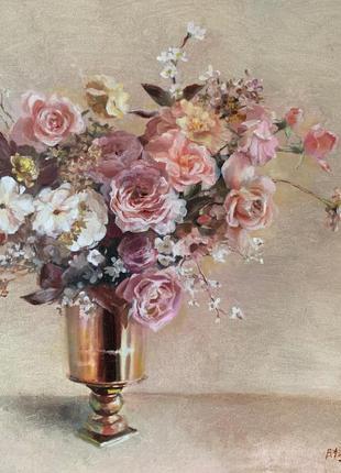 Натюрморт цветочный