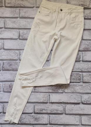 Новые белые джинсы h&m. размер 36