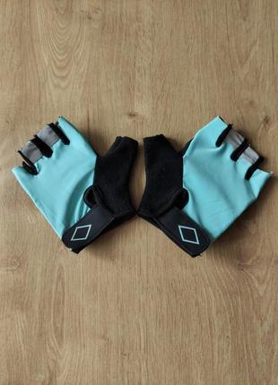 Спортивные женские тренировочные вело перчатки без пальцев crivit