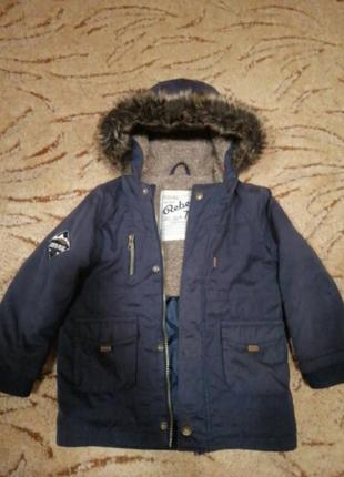 Куртка парка демисезон 2-3года