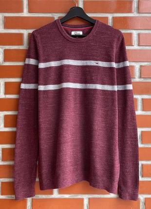 Tommy hilfiger оригинал мужской свитер свитшот размер xl томми хилфигер бу