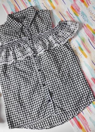 Блузка на девочку 12-13 лет