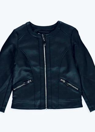 Куртка косуха на девочку 7-8 лет