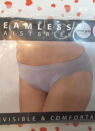 Бесшовные трусики со средней посадкой,bxs, waist brief,нидерланды, s-m