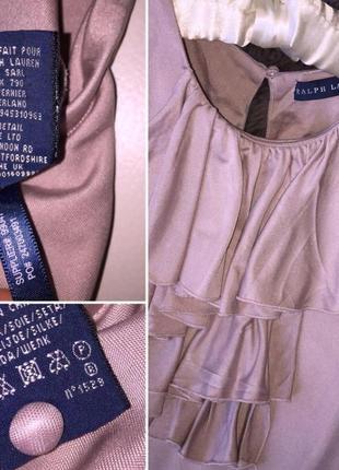 Шелковая блуза ralph lauren3 фото