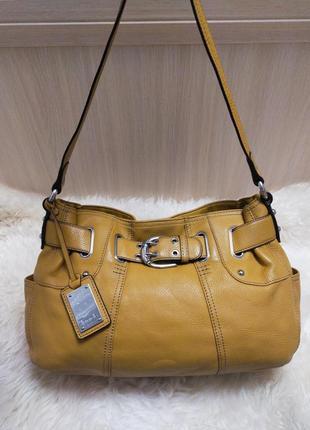 Роскошная кожаная сумка tignanello
