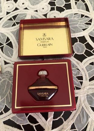 Коллекционные винтажные духи samsara guerlain миниатюра