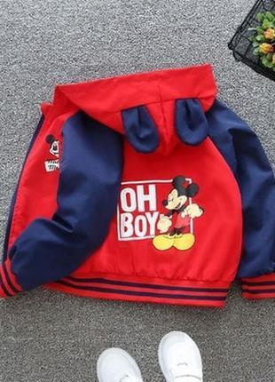 Весняна курточка-вітровка для хлопчиків. новинка !