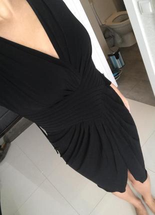 Платье чёрное armani