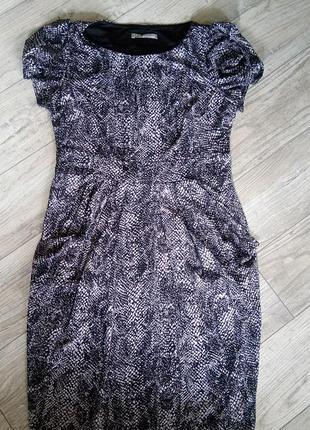 Платье футляр  с карманами