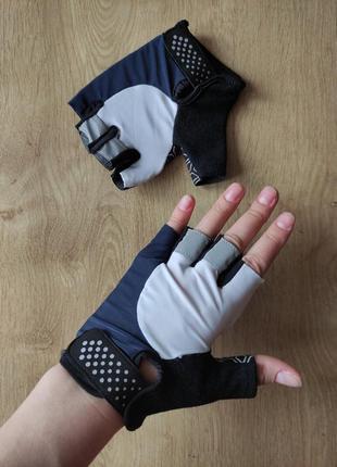 Спортивные женские тренировочные вело перчатки crivit