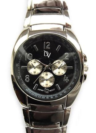 Dv мужские часы из сша металл механизм japan