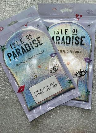 Рукавичка для нанесения автозагара isle of paradise оригинал