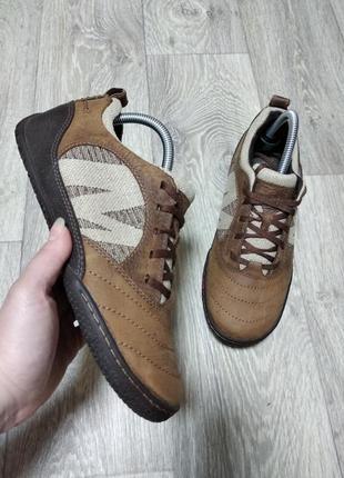 Merrell оригинал туфли кроссовки мокасины натуральная кожа