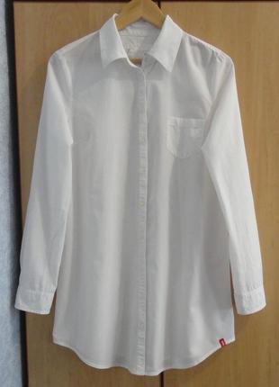 Супер брендовая блуза блузка рубашка туника хлопок