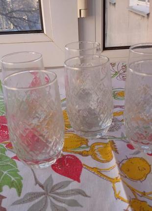 Новые стаканы 6шт