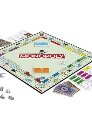 Настольная игра hasbro monopoly классическая монополия