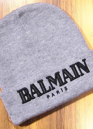 Balmain paris шапка спортивная новая кепка панама snapback бейсболка теплая зима осень