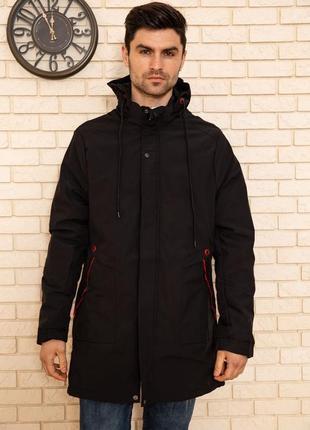 Чёрный цвет куртка парка пальто демми - s