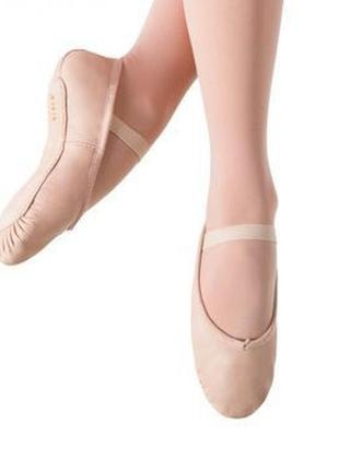 Шкіряні чешки балетки bloch 8b