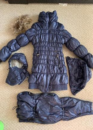 Зимняя куртка пальто для беременных