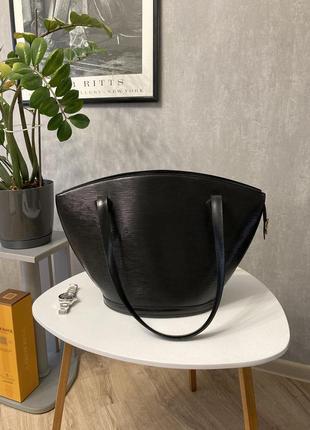Оригинальная кожаная сумка louis vuitton saint jacques gm epi leather