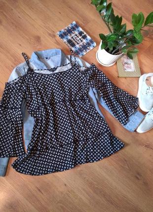 Блузка от  new look .вискоза 100%