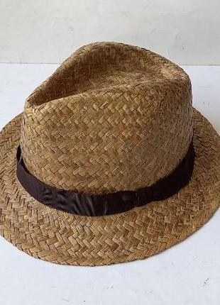 Шляпа соломенная new look