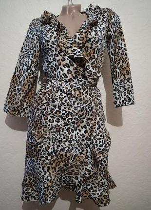 Платье на запах от vero moda размер s