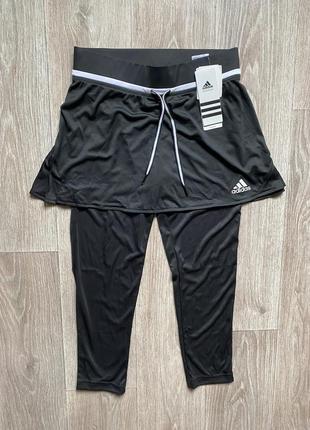 Adidas юбка оригинал размер s лосины