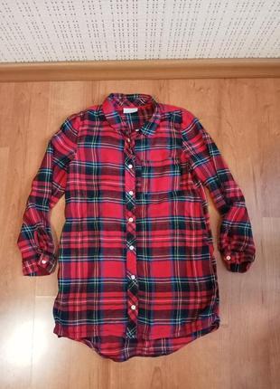 Рубашка-туника на девочку 9 лет.