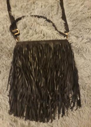 Стильная сумка через плечо zara
