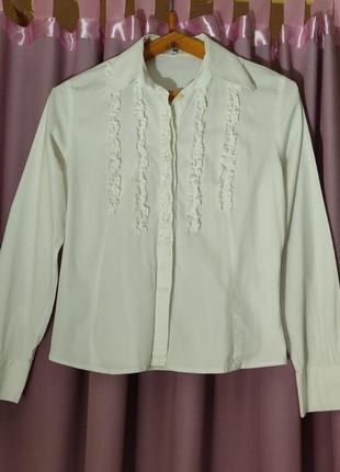 Классная стрейчевая блуза размер s xs