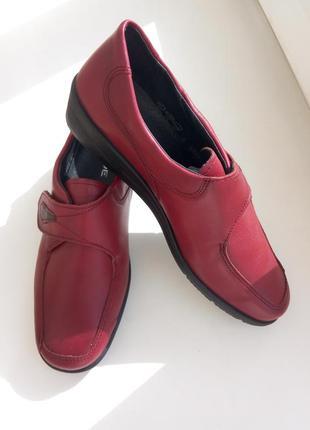 Новые кожаные туфли rohde (германия), размер 39 /6 (25,5 см)