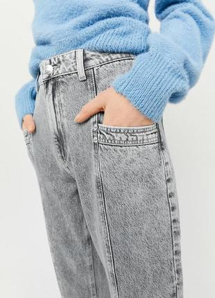 Стильные серые джинсы мом talli weijl