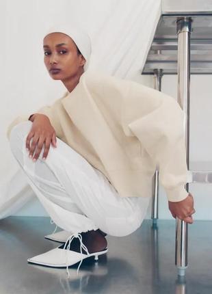 M новый фирменный женский свитшот батник толстовка кофта зара zara