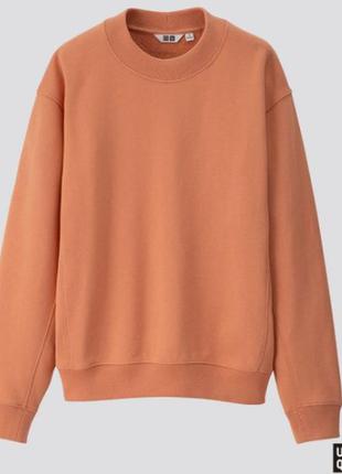 Свитшот, толстовка, модный цвет оранж