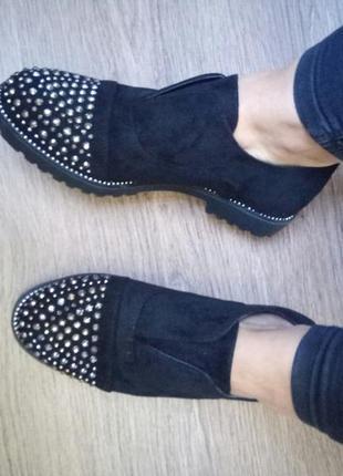 Туфли женские лоферы