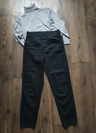 Джинсы на пуговицах, джинсы момы 27р