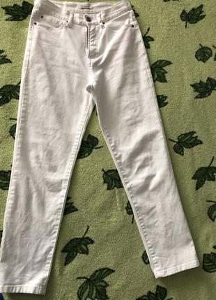 Белые джинсы colin's